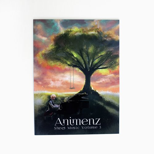 Animenz Sheet Music Volume 3