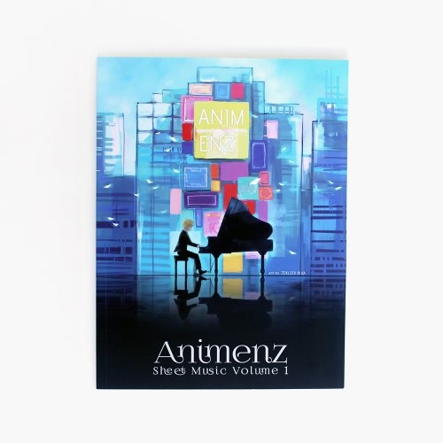 Animenz Sheet Music Volume 1