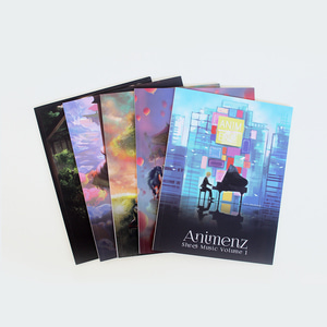 Animenz Sheet Music Volume 1-5